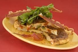 cuisine basque recettes recette de tortilla basque chips de jambon cru facile et rapide