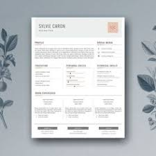 Free Cover Letter Templates For Resumes Hipster Resume U0026 Cover Letter By Artalic On Creative Market