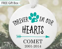 personalized remembrance ornaments dog memorial ornament pet loss personalized dog ornament pet