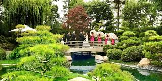 outdoor wedding venues in los angeles earl burns miller japanese garden weddings