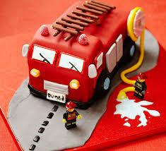 fire engine cake recipe bbc good food