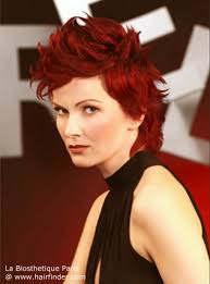 bi level haircuts for women style and go hairstyle with a bi level cut for wine red hair