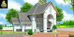 Home Design For 4 Cent by 2300 Sqft Modern Sloping Roof Kerala House Design For 5 Cent Plot