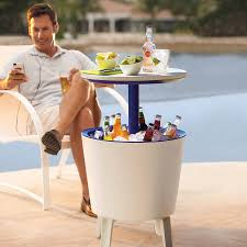 Patio Table Cooler by How To Host A Poker Night U2014 Gentleman U0027s Gazette