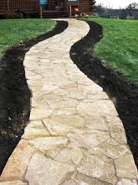 Cobblestone Ideas by 55 Amazing Easy Garden Path U0026 Walkway Front Yard Landscaping Ideas