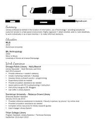 sample librarian resume experienced resume