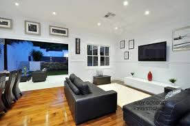architecture modern hi tech mansion sitting space with white