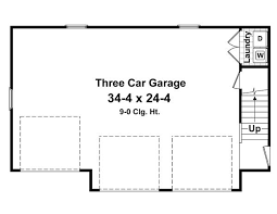 plans for garage willow brook 4204 1 bedroom and 1 5 baths the house designers