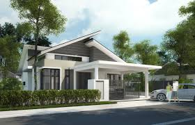 pretentious idea 6 one storey bungalow design and concept 4 home
