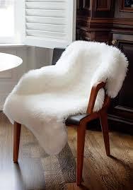 fur chair cover ivory faux fur chair cover faux fur home décor donna
