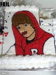 justin bieber cake fail justin bieber pinterest justin
