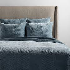 cotton velvet bedding arhaus furniture