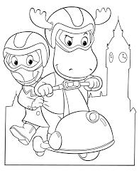 backyardigans coloring pages glum me