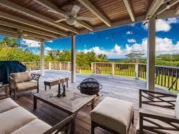 Hawaiian House Hawaiian Style Plantation Home With Guest House On Kalihiwai Ridge