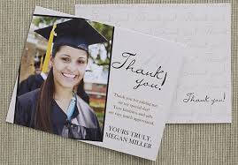 thank you graduation cards 30 thank you card designs and exles