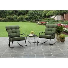 Patio Furniture Green by Chair Rocking Bistro Set Prime Lowes Outdoor Patio Furniture