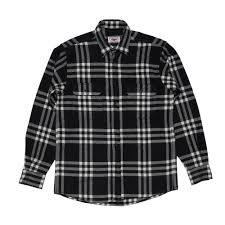 black tartan shirt forever classic apparel co