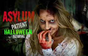 halloween makeup ideas 2017 asylum patient halloween makeup tutorial youtube