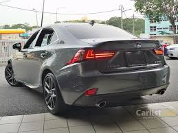 2013 is 250 lexus lexus is250 2013 f sport 2 5 in kuala lumpur automatic sedan grey