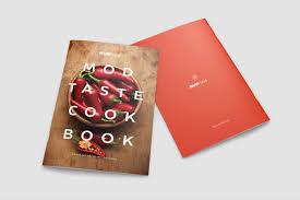 modern cookbook indesign template brochure templates creative