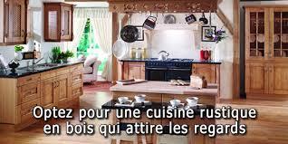 cuisines rustiques bois optez pour une cuisine rustique en bois qui attire les regards