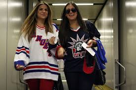 new york rangers fans delta air lines new york rangers fan flight nycaviationnycaviation