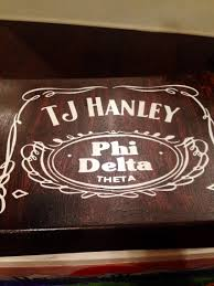 Jack Daniels Home Decor Jack Daniels Fraternity Cooler Phi Delta Theta Mountain Weekend