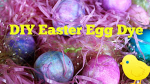 Coloring Eggs Diy Easter Egg Dye Coloring Eggs With Shaving Cream Youtube