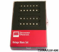 new seymour duncan vintage blues humbucker pickup set sh 1 u002759