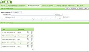bureau de tarification le formulaire de demande en ligne est accessible à partir du site
