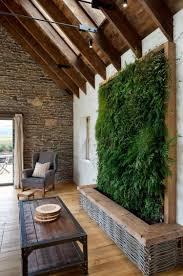 maison en bois style americaine mur végétal intérieur en 80 idées pour la maison écologique