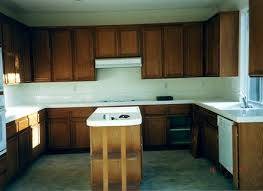 attractive paint or stain kitchen cabinets also painting dark