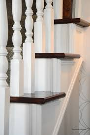 How To Stain Wood Banister How To Stain An Oak Banister The Idea Room