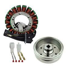 rm23013 kit stator improved magneto flywheel for suzuki lta