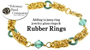 jewelry rubber rings images How to use rubber rings in chain maille jewelry jpg