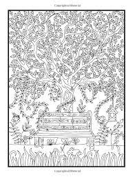 amazon com hidden garden an coloring book with secret