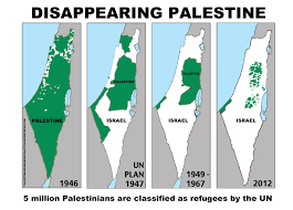 Map Of Palestine Commentary Not On The Map Cartographic Omission From New