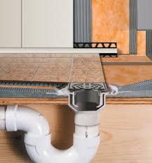bathroom design schluter kerdi shower kit with drain plus brown