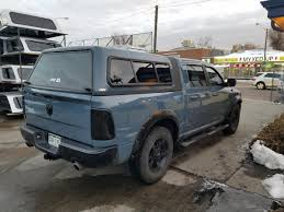 Dodge Ram Truck Caps - 2015 ram are overland pag blue suburban toppers