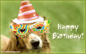 wish a bow wow birthday free pets ecards greeting cards 123
