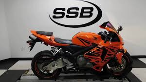 2006 honda cbr 600 for sale 2006 honda cbr600rr orange used motorcycle for sale eden