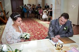 bridal registration solemn registration of marriage in the wedding palace in moscow