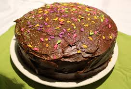 chocolate birthday cake wright schnack
