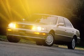 lexus ls400 5 japanese cars that shocked the auto industry 25 years ago