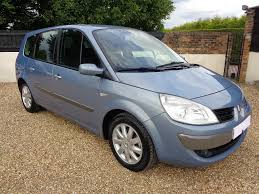 renault grand scenic 2007 used blue renault grand scenic for sale kent