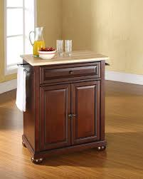 Natural Wood Kitchen Island by Amazon Com Crosley Furniture Alexandria Cuisine Kitchen Island