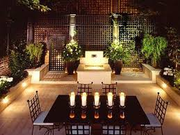 patio table lighting ideas lilianduval