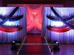 wedding backdrop calgary noretas decor inc event decoration fashion show stage