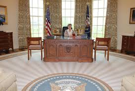 recreating the oval office at the george w bush presidential