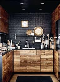 cuisine bois et fer meuble cuisine meuble de cuisine loft